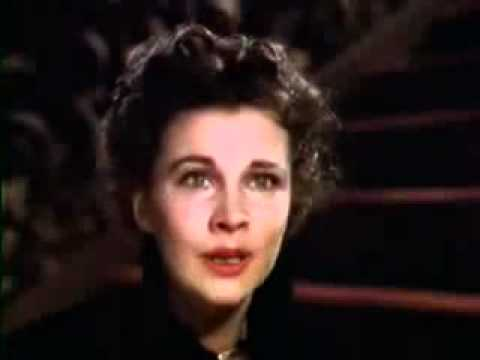 GWTW - Vivien Leigh - '...tomorrow is another day...'