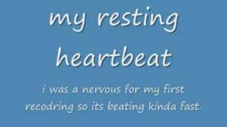 My Resting Heartbeat