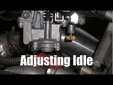 How To Adjust Idle RPM - Arctic Cat 250 300 400 500 650