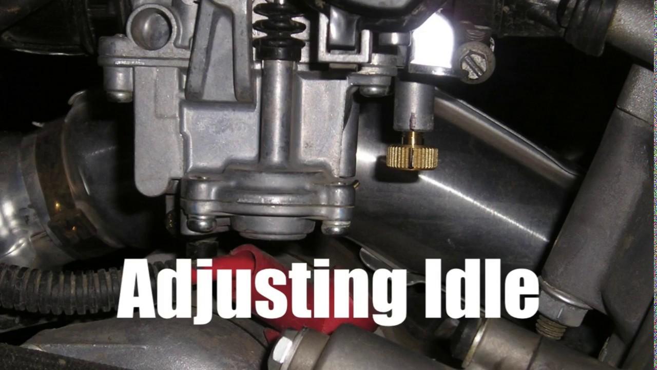 medium resolution of how to adjust idle rpm arctic cat 250 300 400 500 650