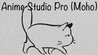 Anime Studio Pro (Moho Pro) - Как сделать анимацию походки животных (котов, собак) / Quadrupeds