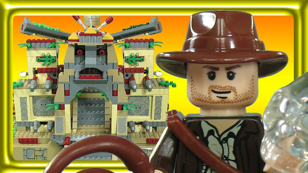Lego Indiana Jones Crystal Skull 7627 Build Review Youtube