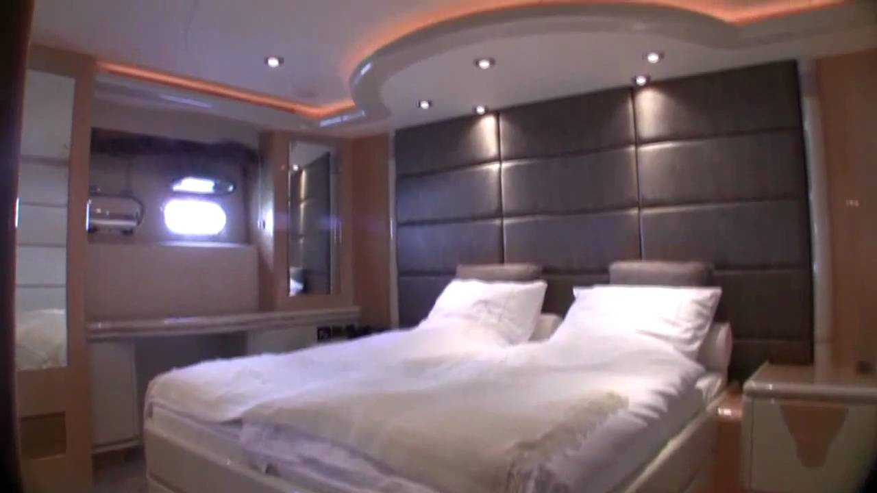 Luxusyachten innen  Elegance 105 Luxusyacht zu verkaufen, Palma de Mallorca - YouTube