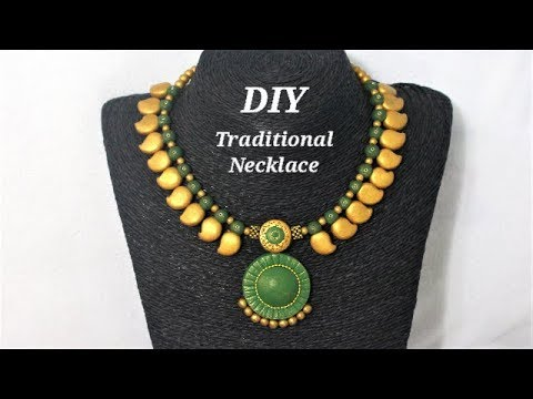 NECKLACE TALER in Polymer Clay