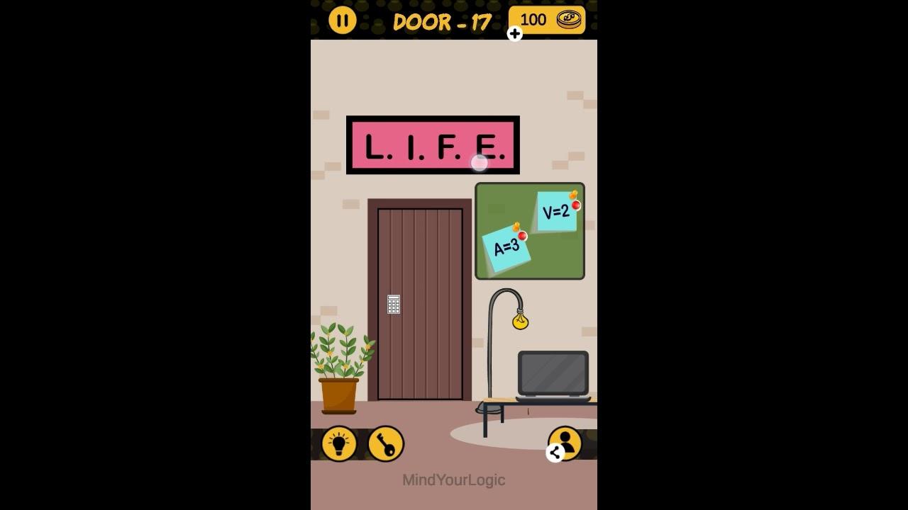 The 4 Digit Code Door 16 17 18 19 20 Walkthrough