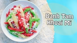 ❀cooking With Mom: Banh Khoai Mi {cassava Cakes}