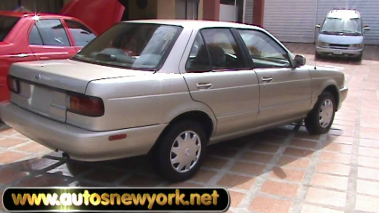 hd nissan sentra champagne b13 gxe 1994, manual, full extras - youtube