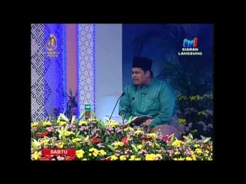 02: Ustaz Tirmizi Ali: Johan Qari Majlis Tilawah Al-Quran Peringkat Antarabangsa ke-56.