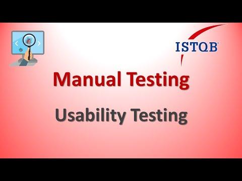 Manual Testing - Usability Testing