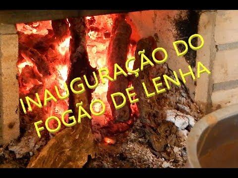 INAUGURAÇÃO DO FOGÃO DE LENHA
