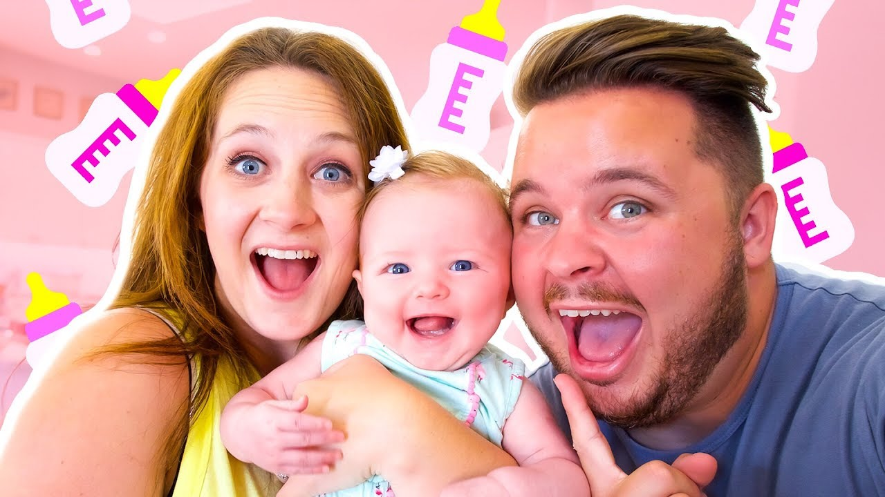adopted our new baby girl youtube