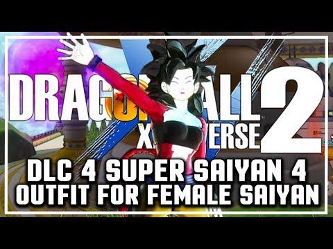 DLC Pack 4 SUPER SAIYAN 4 FEMALE OUTFIT I Dragon Ball Xenoverse 2 DLC 4 HOW TO UNLOCK SUPER SAIYAN 4