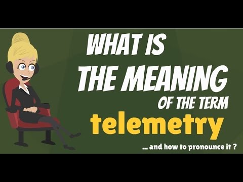 Download What is TELEMETRY? What does TELEMETRY mean? TELEMETRY meaning, definition & explanation