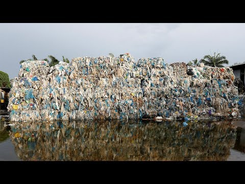 Plastic piles up in Malaysia after China's waste import ban