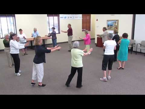 Tai Chi for Arthritis class held in West Palm Beach. Arthritis Foundation Florida Chapter.