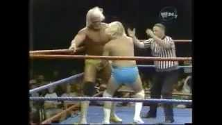 Hulk Hogan vs. Sonny Rogers & Chuck Greenly (Handicap match)