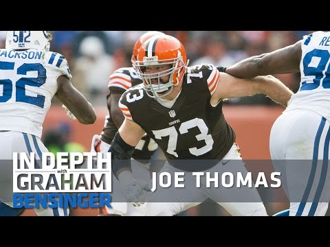 """Joe Thomas to backup: """"Get the f@#% outta here!"""""""
