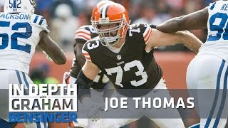 "Joe Thomas to backup: ""Get the f@#% outta here!"""