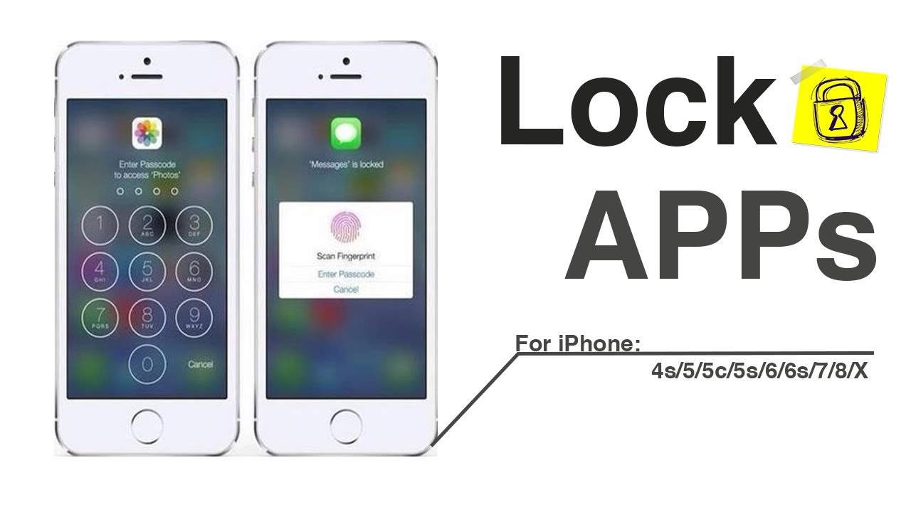 iphone 6 apps how to lock apps on iphone 5 5s 6 6s 7 8 x 11286
