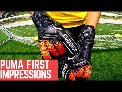 dbcf892f3dc Puma Goalkeeper Gloves First Impressions