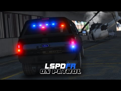 LSPDFR - Day 303 - Helicopter Crash (Live Stream)