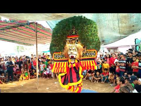 Reog Singo Krido Budoyo live Tempel 23 September 2017