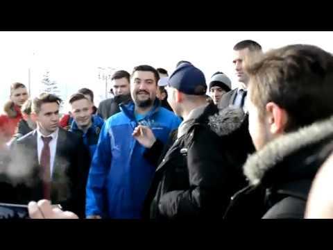 Дмитрий Коротков (America TV) в Минске