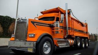 800HP Kenworth W900 dump truck