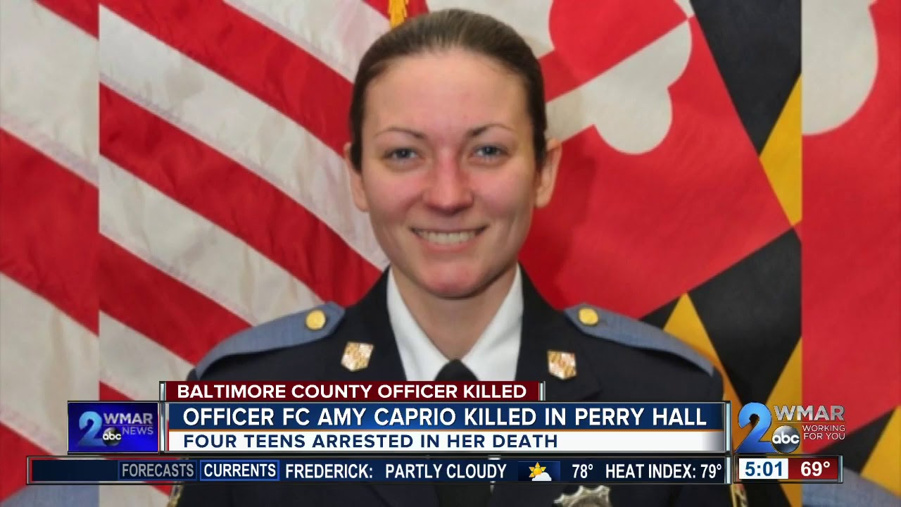 Baltimore County police chief: 'Officer Caprio was the type of officer that ...