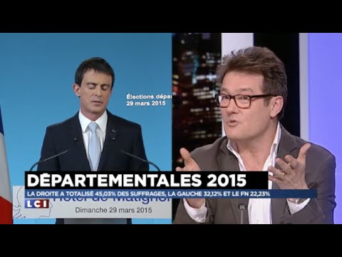 Michel Soudais sur LCI: Analyse du second tour des départementales