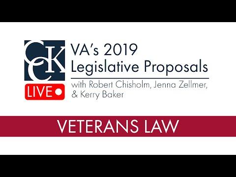 VA's 2019 Legislative Proposals Mp3