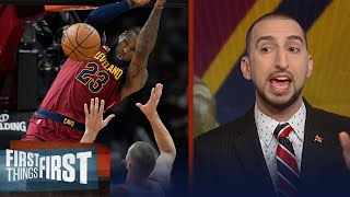 Nick Wright on LeBron leading Cavaliers to victory over the Toronto Raptors   FIRST THINGS FIRST