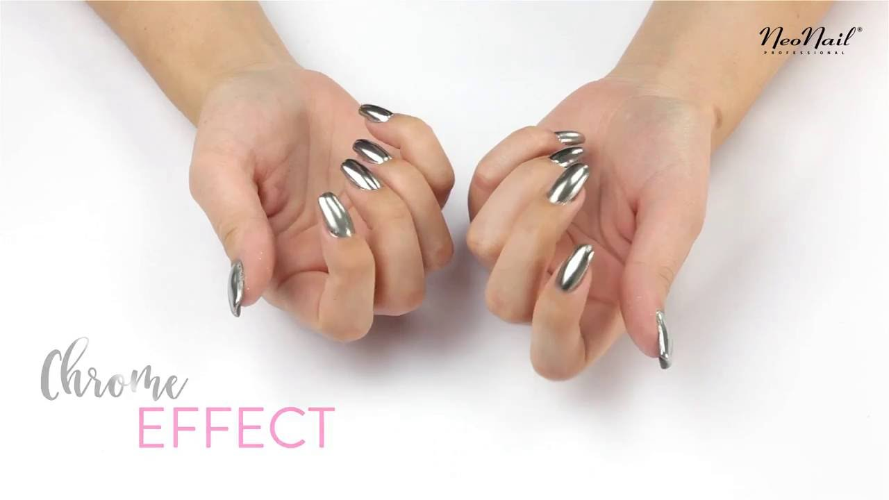 Chrome Effect By Neonail Youtube