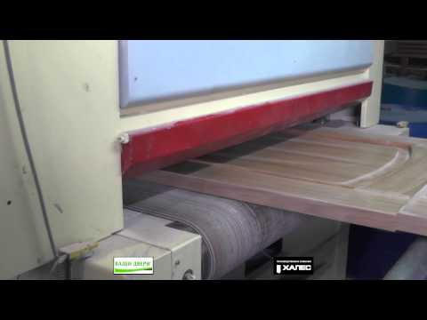Производство дверей на фабрике Халес