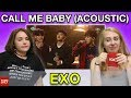 "Exo ""call Me Baby"" Acoustic Sbs Party People • Fomo Daily Reacts"