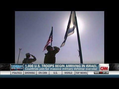 Thousands Of US Troops Arrive In Israel