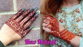 New Easy Arabic Mehndi Design For hands - Easy Mehndi Designs -Henna Designs