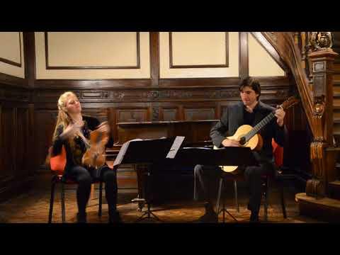 Centone di Sonate, N.Paganini, Sonata No. 1 in A minor - Duo Mingrone-Scanavino