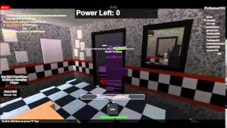 Roblox Season 1 Episode 3 Five Nights At Freddy's