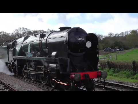 Swanage's 'Strictly Bulleid' Spring Gala event 1/4/17
