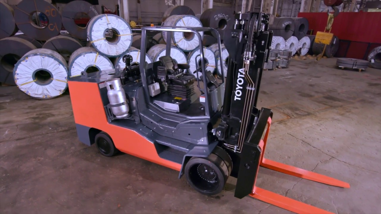 High Capacity Large IC Cushion Forklifts | Southeast