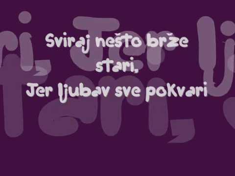 Mrzim spore stvari - Ana Bebic ( reci pesme, lyrics )