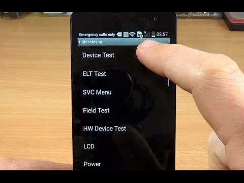 Lg Leon 4G LTE H340n - How to enter in Hidden Menu!
