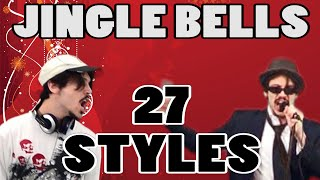 JINGLE BELLS in 27 styles
