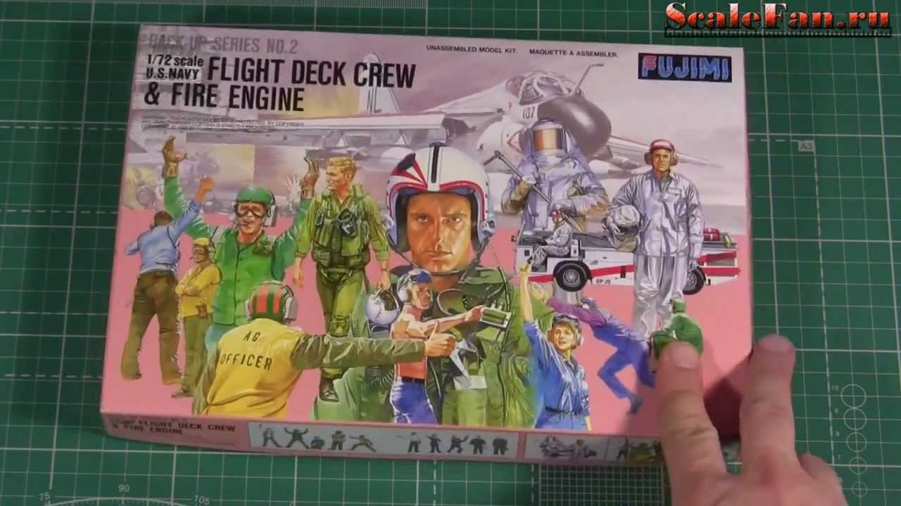 flight deck crew fire engine u s navy fujimi 72 scale youtube. Black Bedroom Furniture Sets. Home Design Ideas