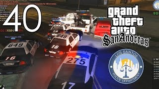 [LS-RP.com] LSPD | Pursuit #40 - Stolen cruiser... by a towtruck?!