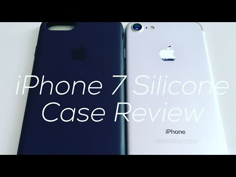 Unboxing/Review: Apple's Midnight Blue IPhone 7 Silicone Case