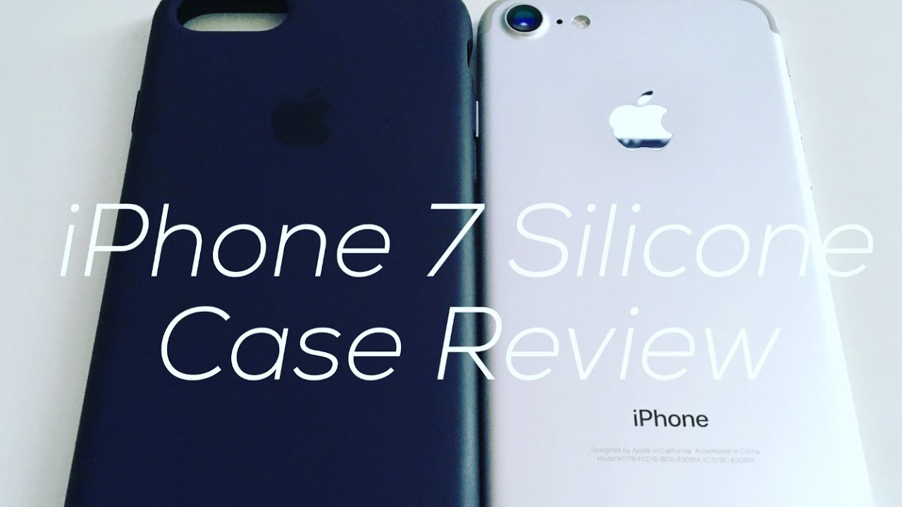 new concept 6546d e8d78 Unboxing/Review: Apple's Midnight Blue iPhone 7 Silicone Case