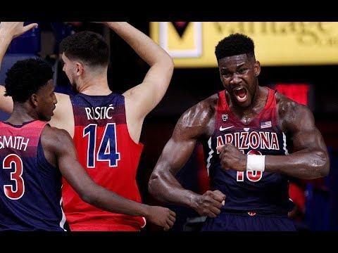 Arizona Basketball Red-Blue Game 2017
