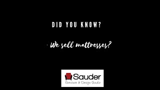 Did you know.. we sell mattresses?